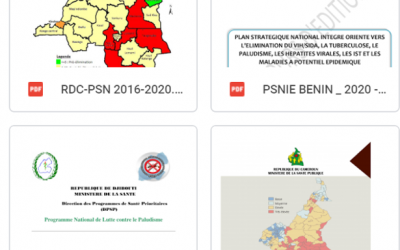 National Malaria Strategic Plans